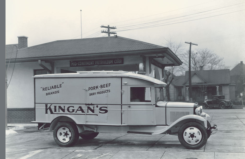 KINGAN'S MEAT TRUCK NUMBER 3