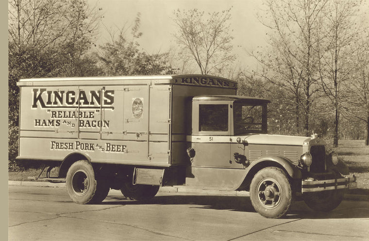 KINGAN'S MEAT TRUCK NUMBER 4