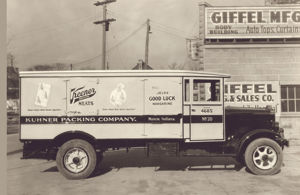 KUHNER PACKING COMPANY TRUCK NUMBER 2