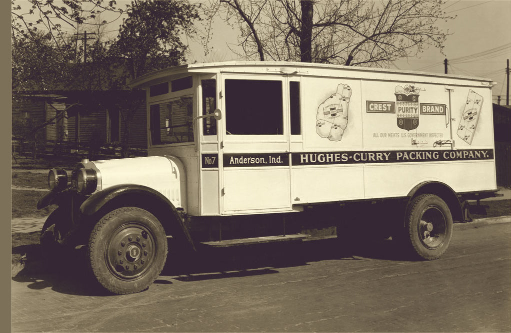 HUGHES-CURRY PACKING CO. TRUCK NUMBER 1