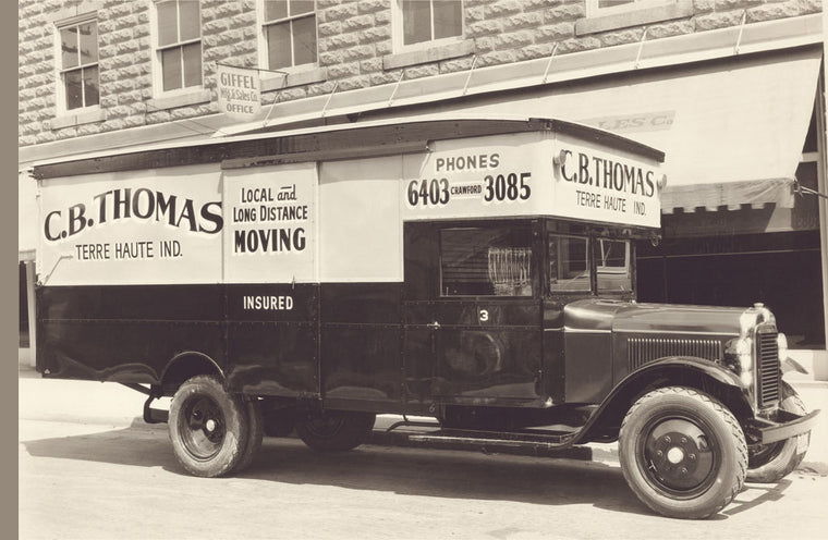 C.B. THOMAS MOVING TRUCK