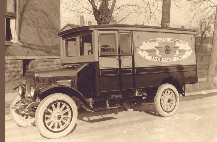 HUGHES-CURRY PACKING CO. TRUCK NUMBER 2