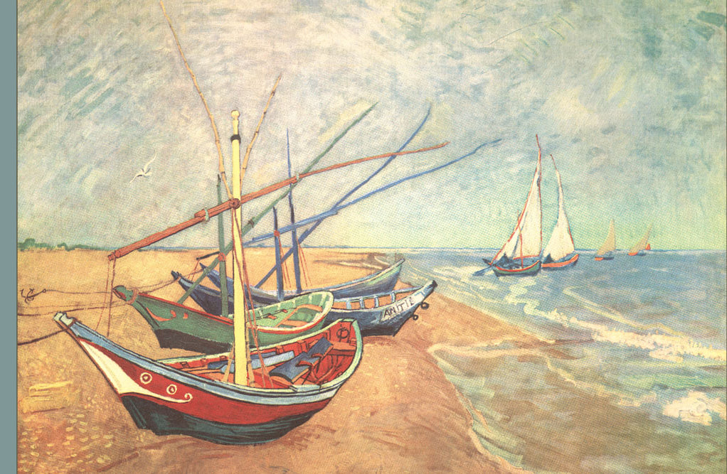 BOATS AT SAINTES-MARIES