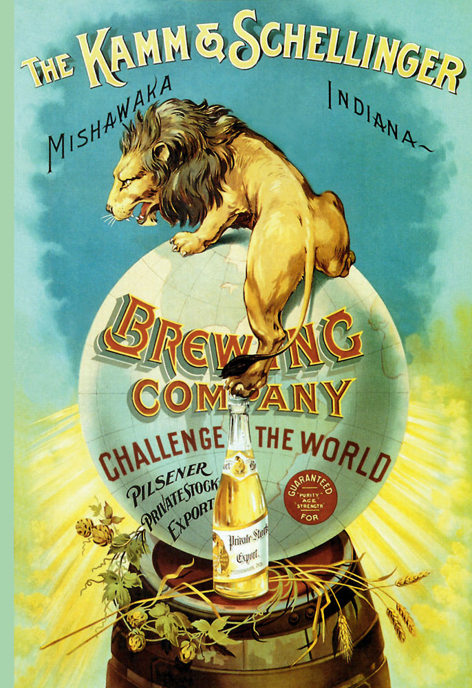 KAMM AND SCHELLINGER BREWING COMPANY - CHALLENGE THE WORLD
