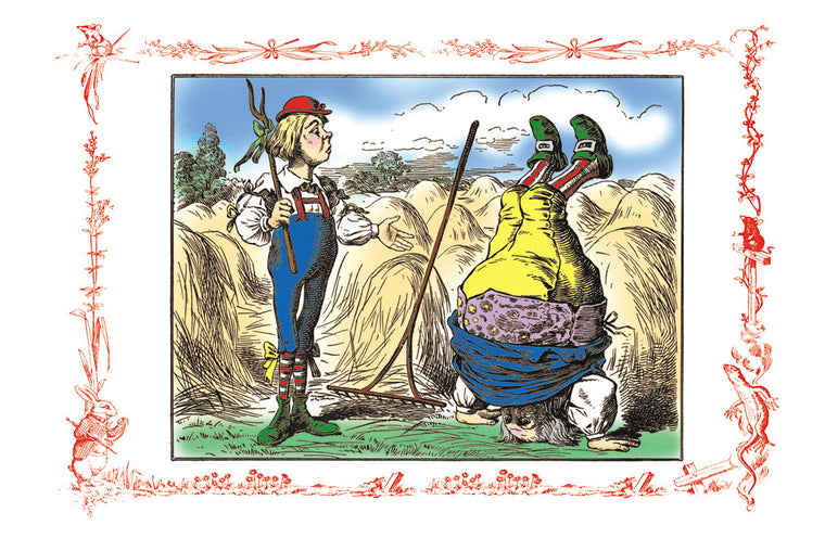 ALICE IN WONDERLAND: FATHER WILLIAM AND THE YOUNG MAN