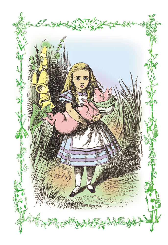 ALICE IN WONDERLAND: ALICE AND THE PIG-BABY