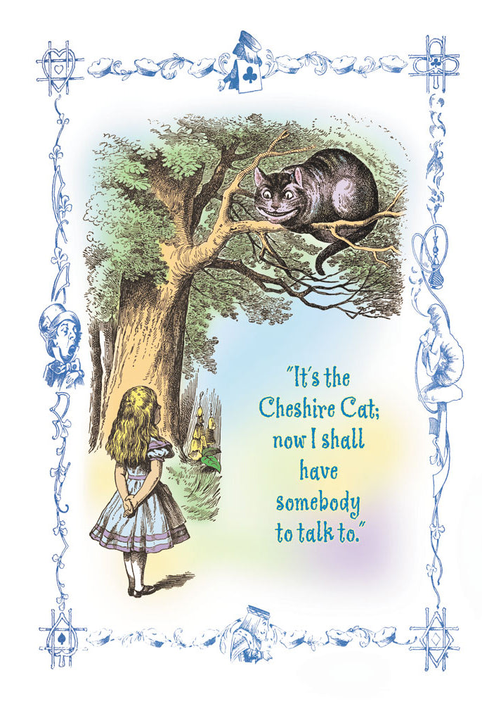ALICE IN WONDERLAND: IT'S THE CHESHIRE CAT
