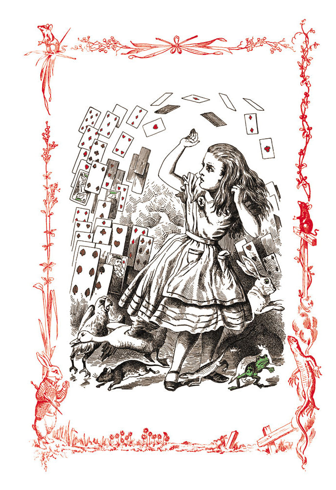 ALICE IN WONDERLAND: YOU'RE NOTHING BUT A PACK OF CARDS!