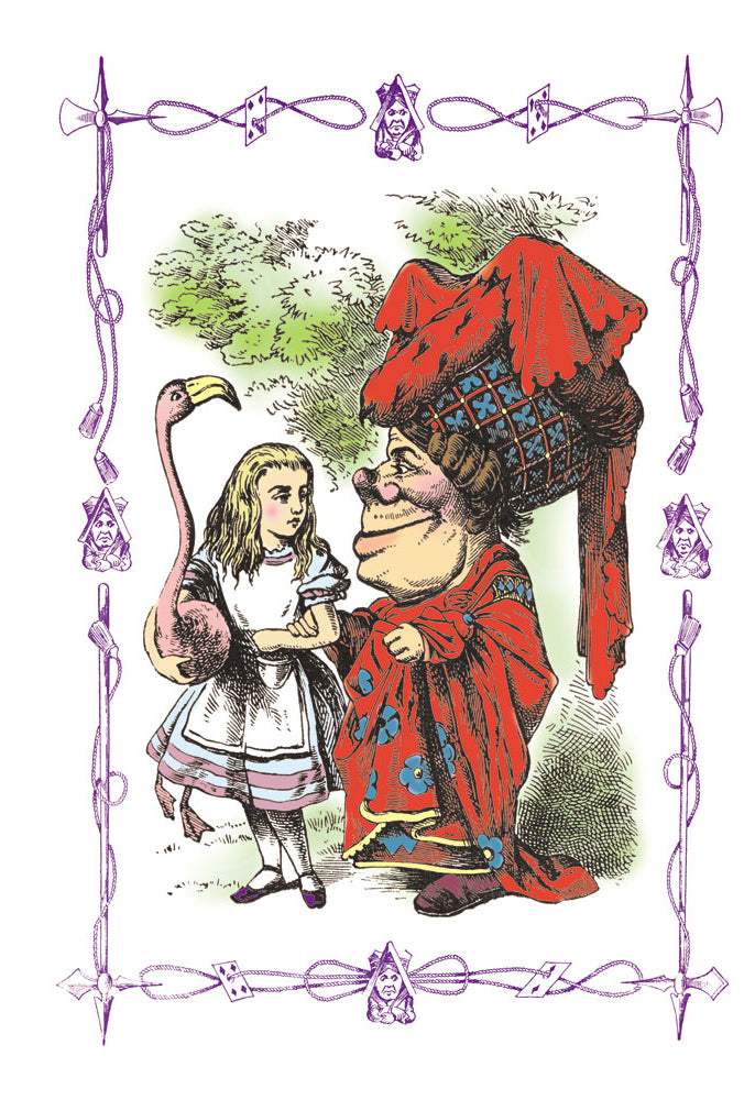 ALICE IN WONDERLAND: ALICE AND THE DUCHESS