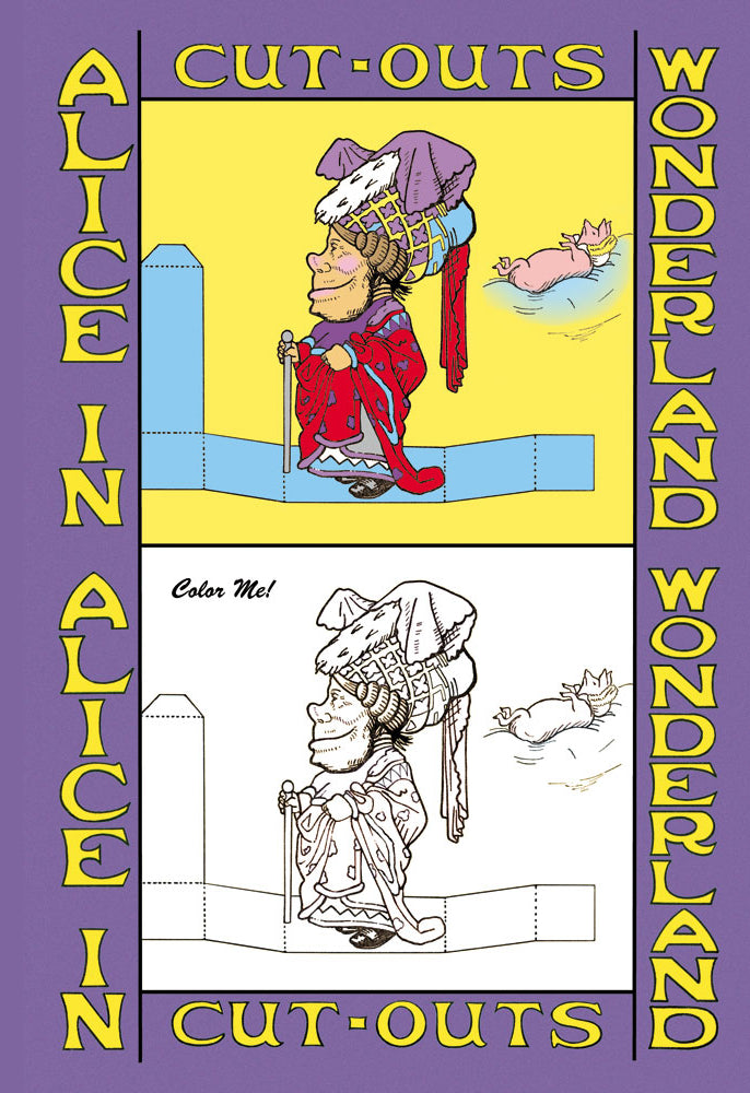 ALICE IN WONDERLAND: THE DUCHESS - COLOR ME!