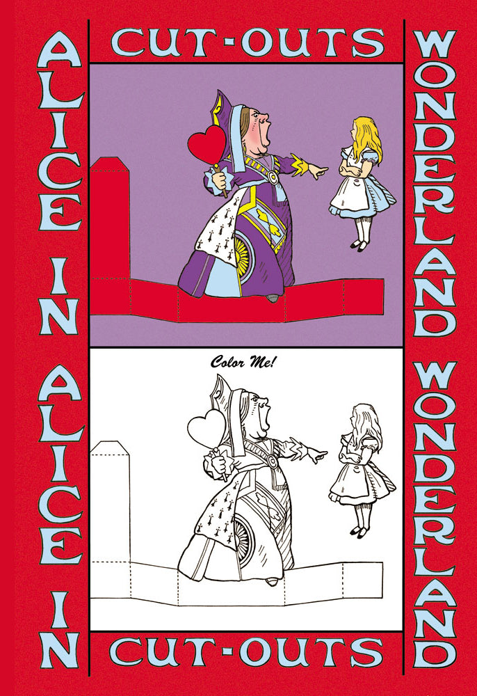 ALICE IN WONDERLAND: QUEEN OF HEARTS - COLOR ME!