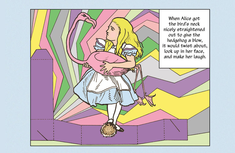 ALICE IN WONDERLAND: ALICE AND THE BIRD
