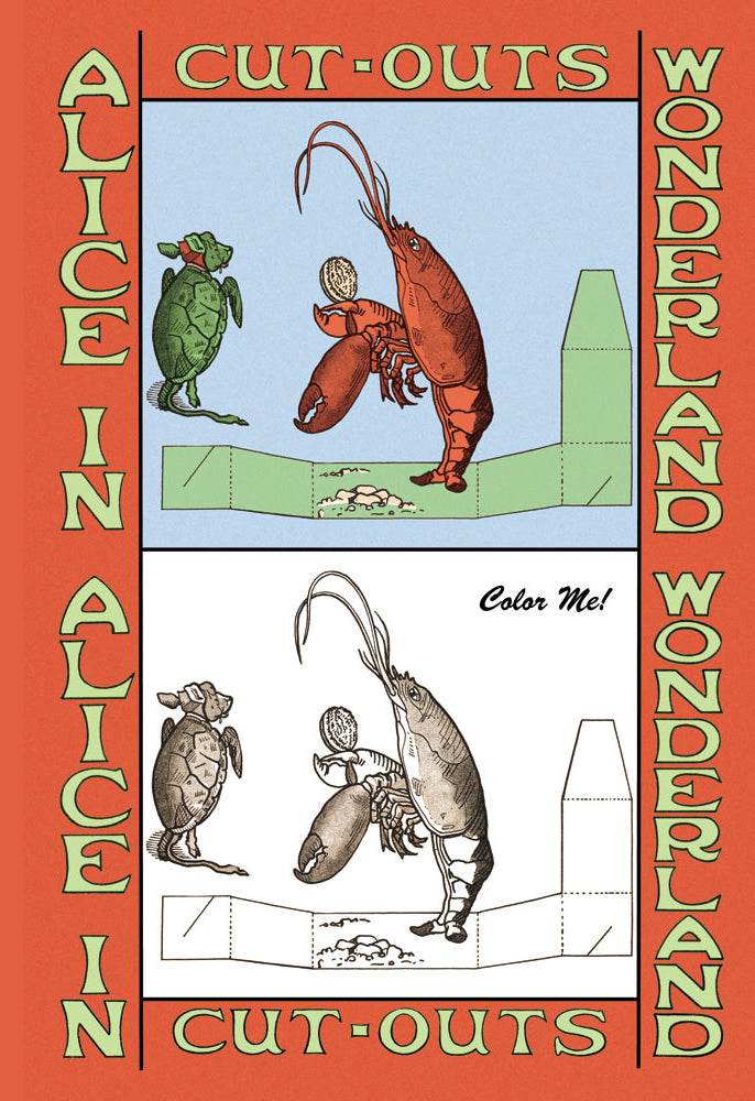 ALICE IN WONDERLAND: LOBSTER - COLOR ME!