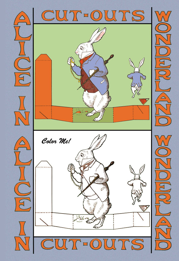 ALICE IN WONDERLAND: LATE FOR AN IMPORTANT DATE - COLOR ME!