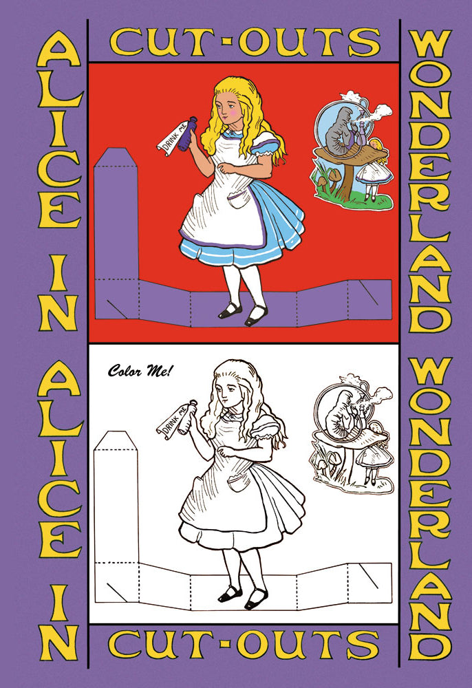 ALICE IN WONDERLAND: DRINK ME - COLOR ME!