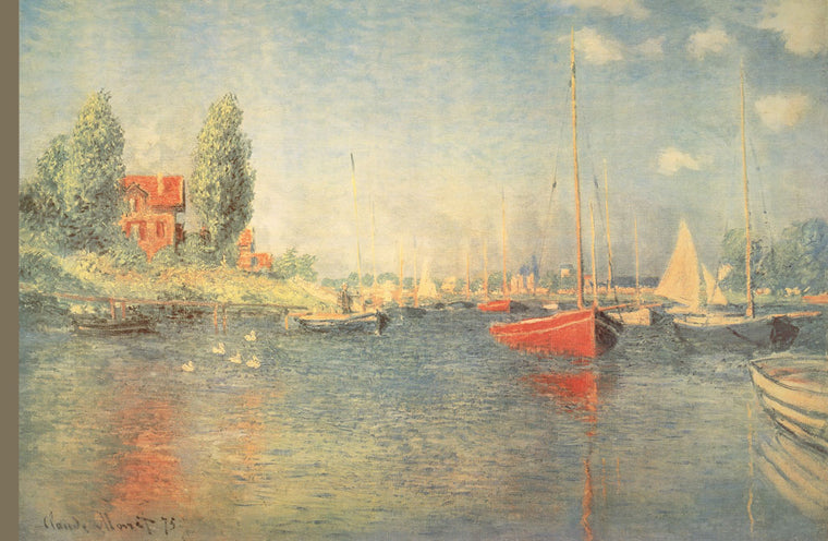 THE RED BOATS, ARGENTERUIL