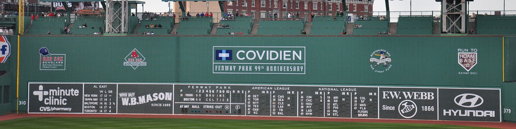 GREEN MONSTER, FENWAY PARK, BOSTON RED SOX