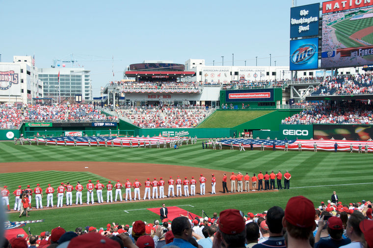 NATIONALS STADIUM OPENING CEREMONY
