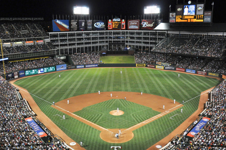 ARLINGTON BALLPARK, TEXAS RANGERS