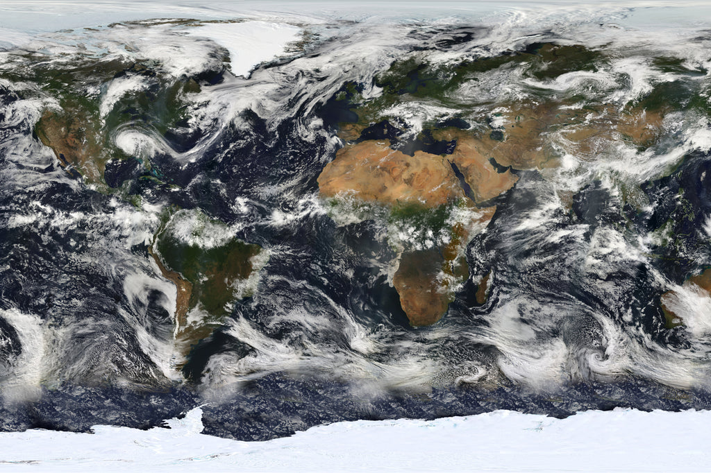 MODIS Map of the World