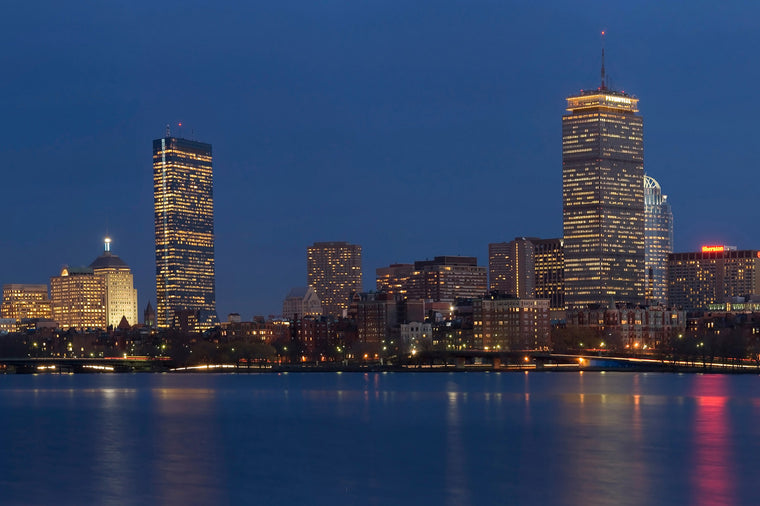Boston, MA at Night
