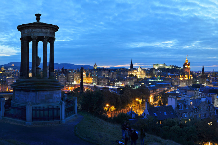 Edinburgh Night Panoramic