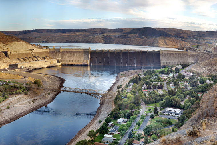 Grand Coulee Dam Panoramic