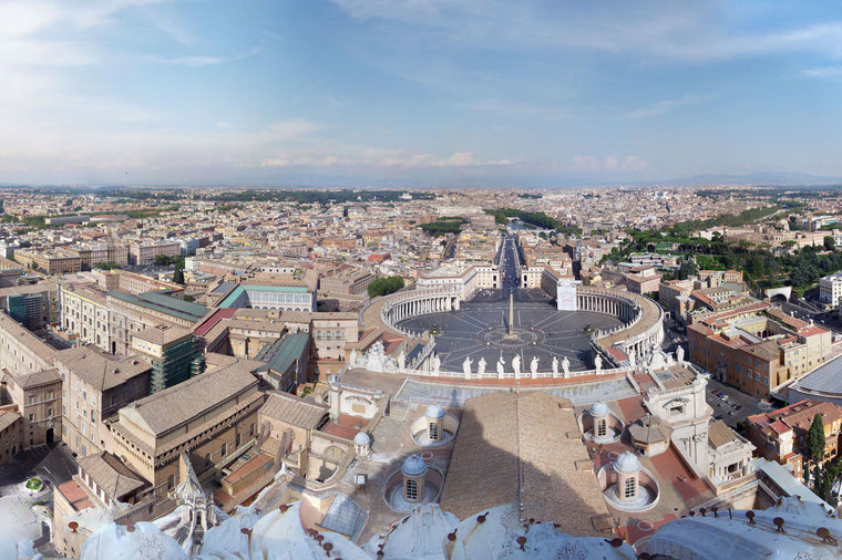 View from St. Peters Basilica