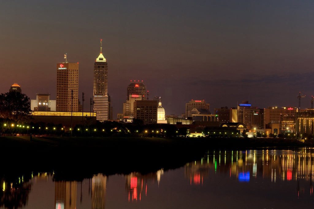 Indianapolis Downtown Skyline