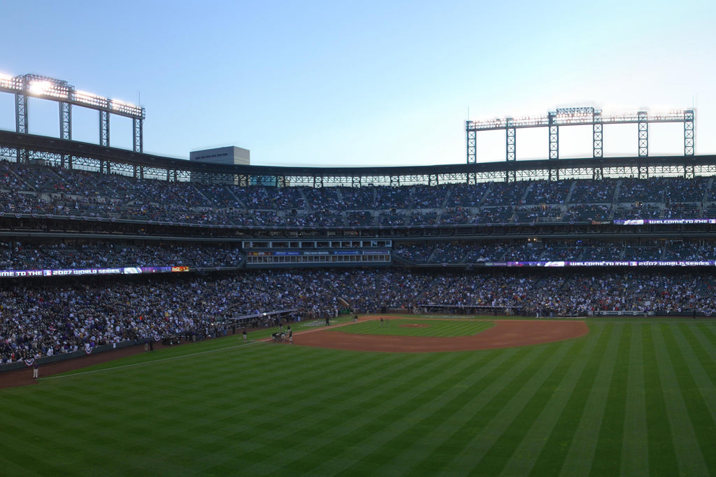 Coors Field Panoramic, Home of the Rockies