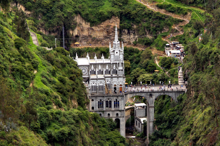 Lajas Catherdral, Colombia