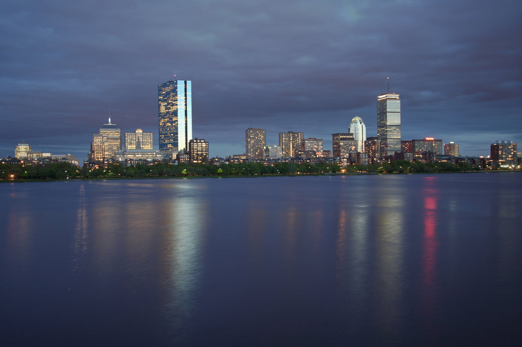 Boston Across from the Charles River