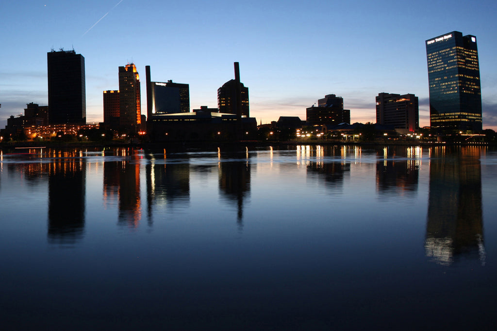 Skyline of Toledo, Ohio
