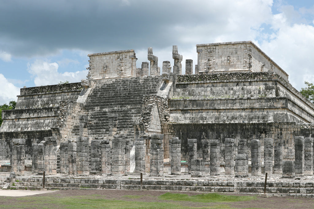 Temple of Warriors, Chichen Itza, Mexico