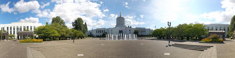 OREGON STATE CAPITAL BUILDING