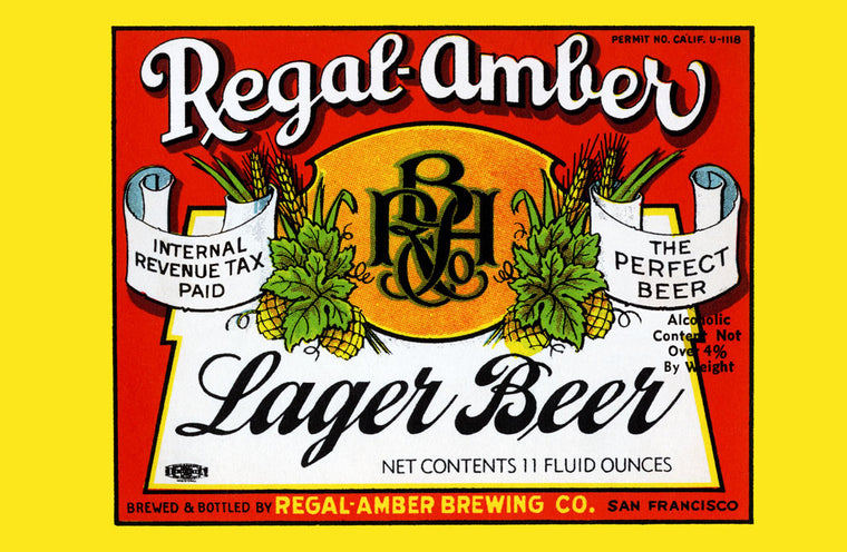 REGAL-AMBER LAGER BEER