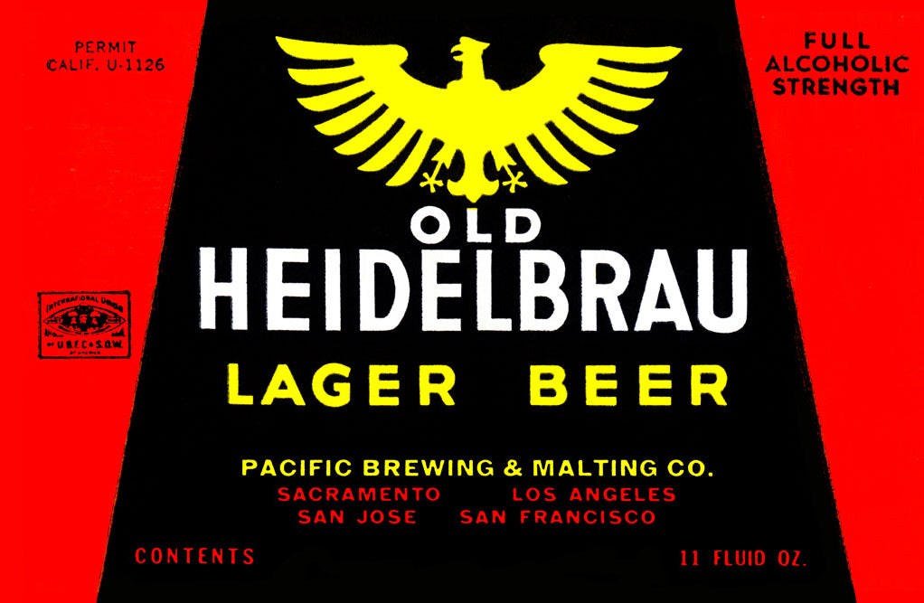 OLD HEIDELBRAU LAGER BEER