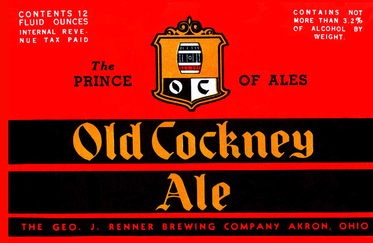 OLD COCKNEY ALE