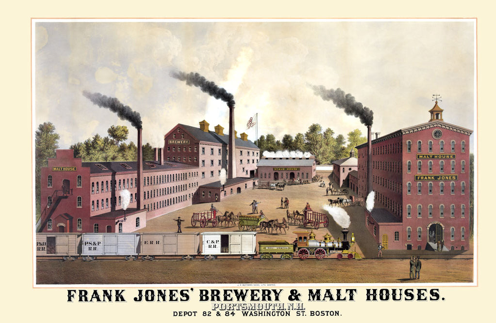 FRANK JONES' BREWERY & MALT HOUSES
