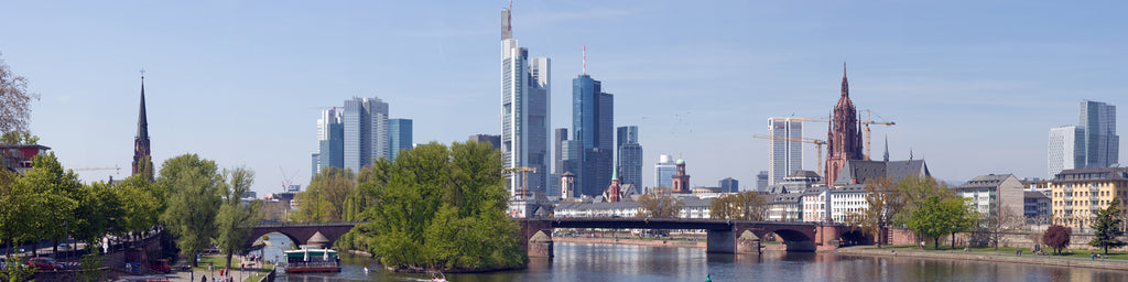 FRANKFURT SKYLINE PANORAMIC