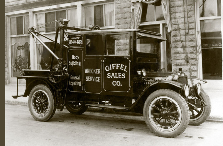 GIFFEL SALES CO. WRECKER SERVICE