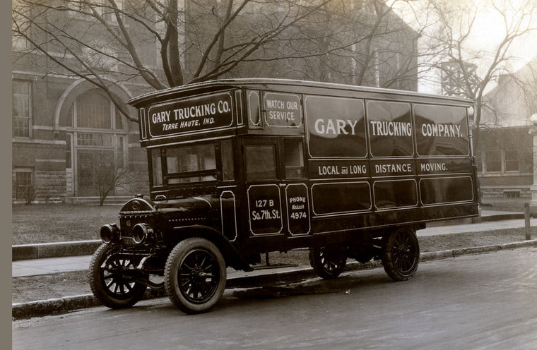 GARY TRUCKING CO. MOVING TRUCK