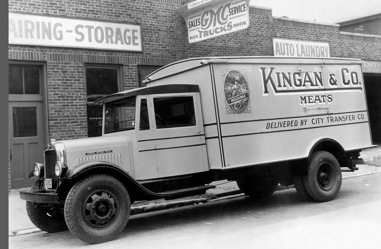 KINGAN'S MEAT TRUCK NUMBER 1