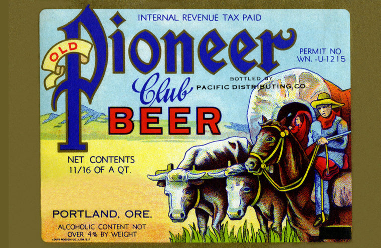 OLD PIONEER CLUB BEER