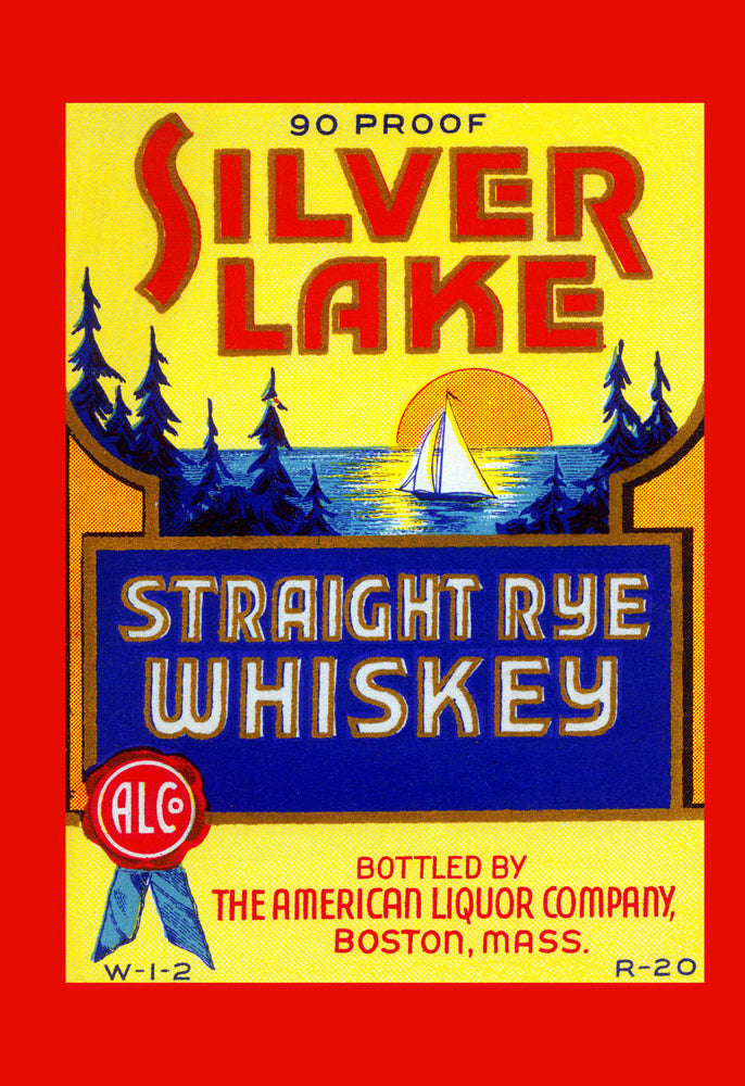 SILVER LAKE STRAIGHT RYE WHISKEY