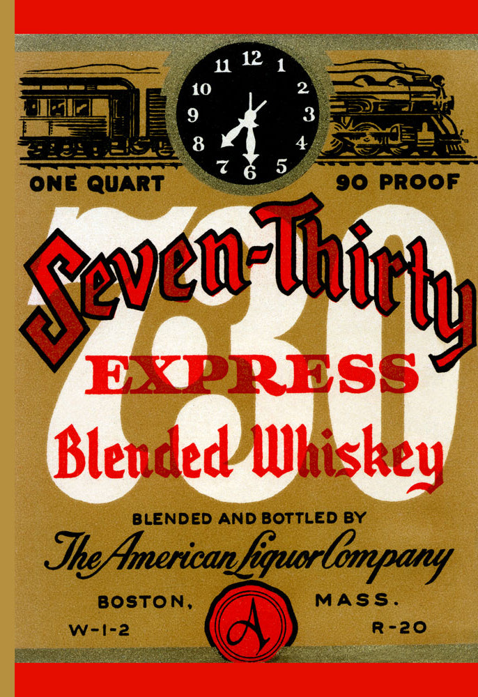 SEVEN-THIRTY EXPRESS BLENDED WHISKEY