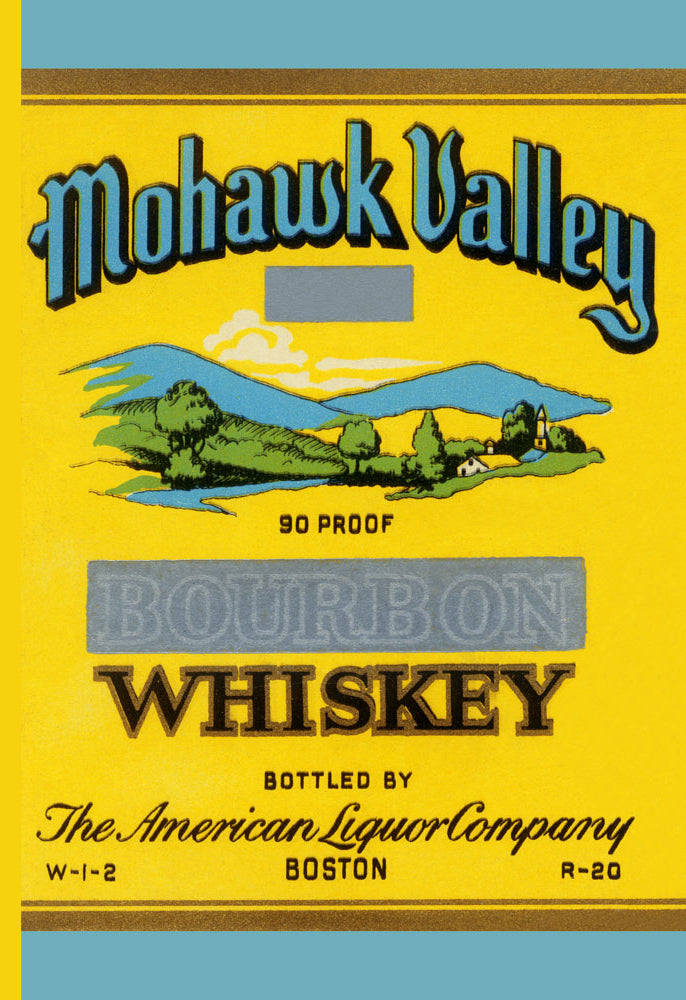 MOHAWK VALLEY BOURBON WHISKEY