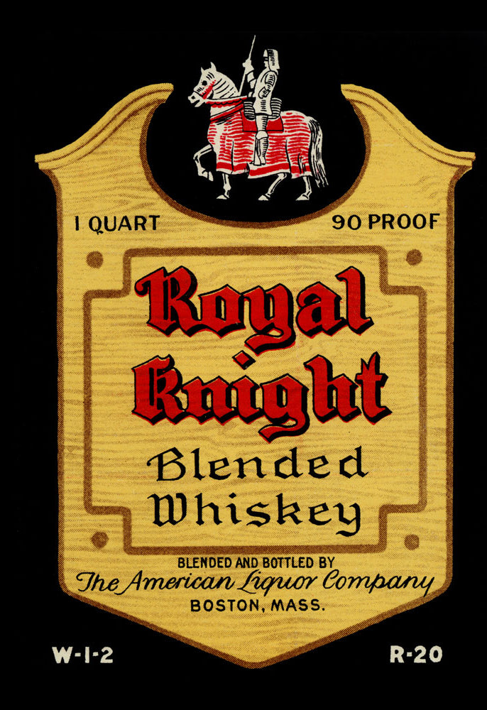 ROYAL KNIGHT BLENDED WHISKEY