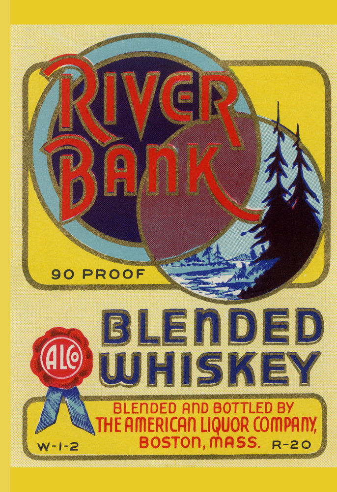 RIVER BANK BLENDED WHISKEY