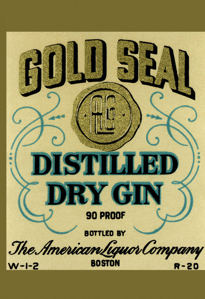 GOLD SEAL DISTILLER DRY GIN